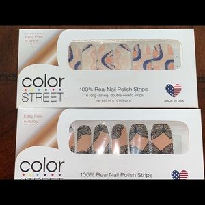 Never opened Color Street - 2 pack